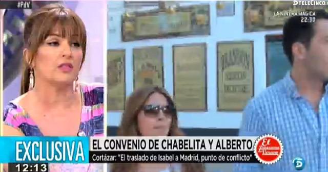 Chabelita se traslada con su madre y su hijo a Madrid