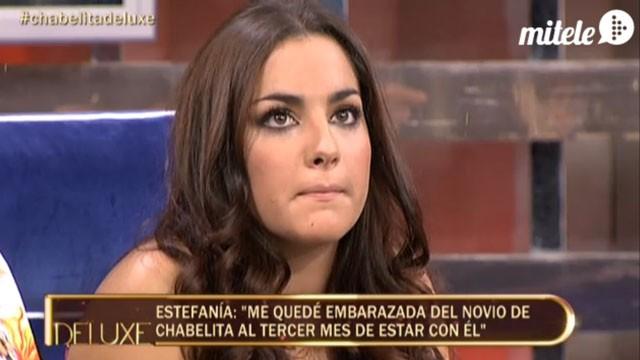Estefanía, la madre del primer hijo de Alberto Isla, nada sorprendida por la ruptura con Chabelita