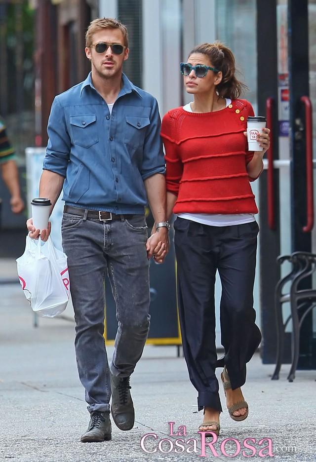 Eva Mendes y Ryan Gosling podrían estar esperando su prime hijo