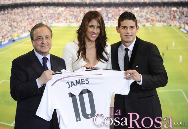 Daniela Ospina, la mujer de James Rodríguez, insultada en Twitter