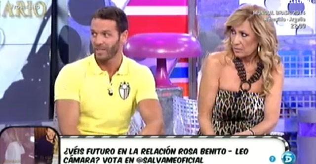 Leo Cámara solo quiere una amistad con Rosa Benito