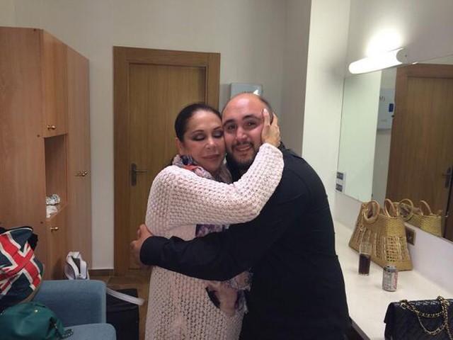 Isabel Pantoja y Kiko Rivera graban su primera canción juntos