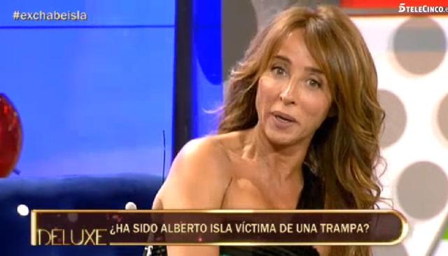María Patiño debuta con éxito como presentadora de Sálvame deluxe