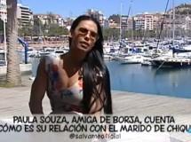Paula Souza, la amante del marido de Chiqui, desnuda en Interviú