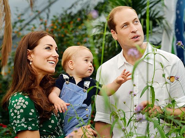 El Príncipe George cumple un año