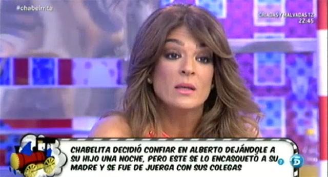 Chabelita no quiere saber nada de Alberto Isla