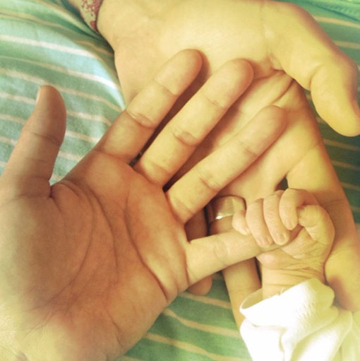 Raquel del Rosario ya es madre