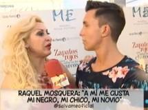 Raquel Mosquera niega que su nuevo noviazgo sea un montaje