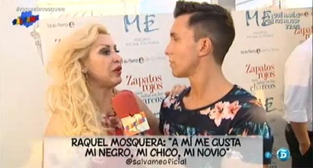 Raquel Mosquera niega su nuevo noviazgo sea un montaje