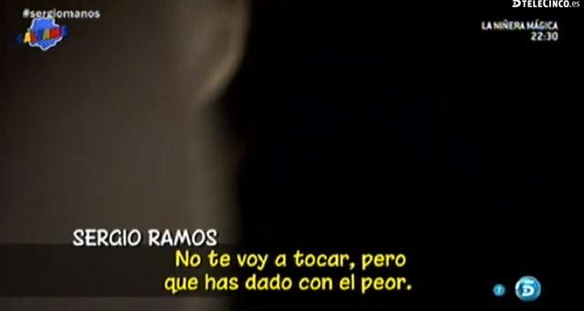 Sergio Ramos, su madre y Pilar Rubio y su altercado con una fotógrafa