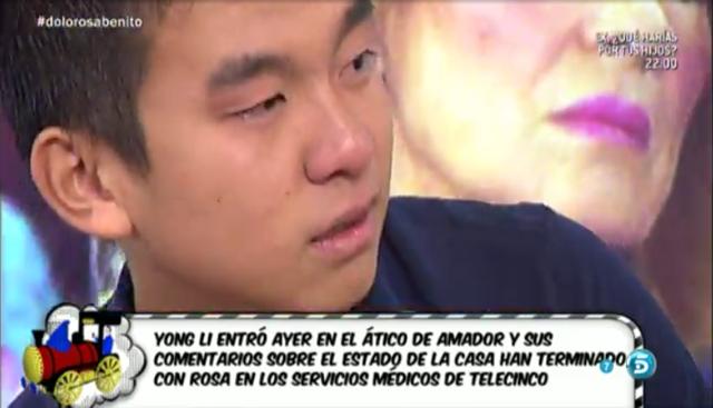 Rosa Benito sufre un ataque de ansiedad porque la casa de Chipiona está sucia