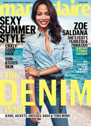 Zoe Saldana no es amiga de sus exparejas