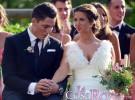 El piloto de Moto GP Aleix Espargaró se casa con Laura Montero