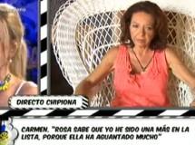 Carmen Moraira asegura que tuvo una relación con Amador Mohedano hace 30 años