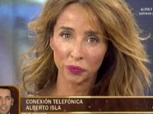 Alberto Isla entra por teléfono en Sálvame deluxe