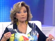 María Teresa Campos no quiere hablar de Bigote Arrocet en ¡Qué tiempo tan feliz!