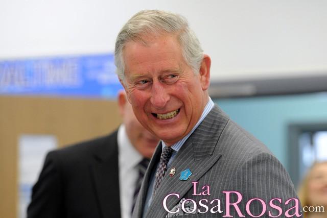 El Príncipe Carlos de Inglaterra, encantado con la llegada de su segundo nieto