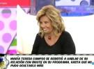 María Teresa Campos se muestra cauta y feliz con Edmundo Arrocet
