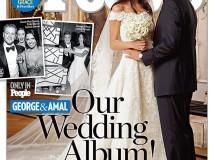 La boda de George Clooney y Amal Alamuddin costó 1,6 millones de dólares