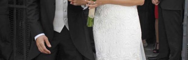 David de María y su manager Lola Escobedo ya son marido y mujer