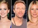 Jennifer Lawrence dejó a Chris Martin por su relación con su ex Gwyneth Paltrow