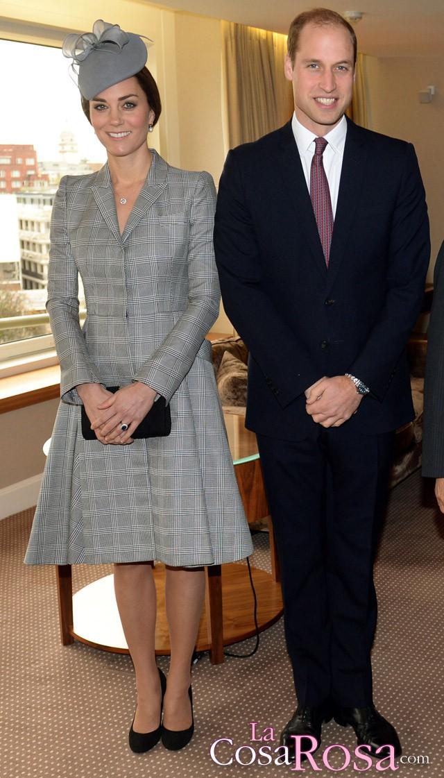 Kate Middleton hace su primera aparición pública tras anunciar su segundo embarazo