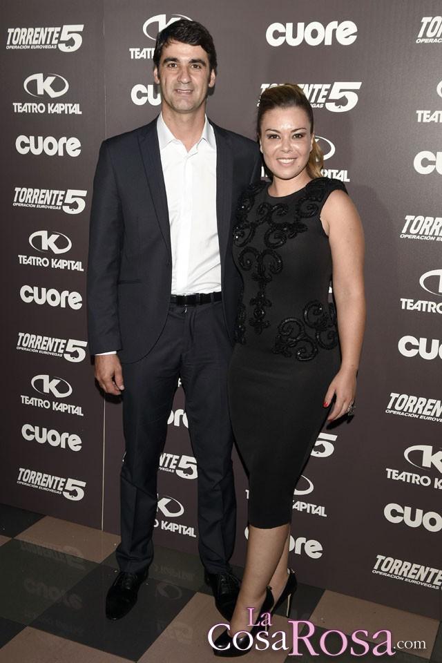 Premiere de Torrente 5 en Madrid con Jesulín de Ubrique y María José Campanario