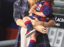 Shakira intenta llevar su segundo embarazo con más tranquilidad
