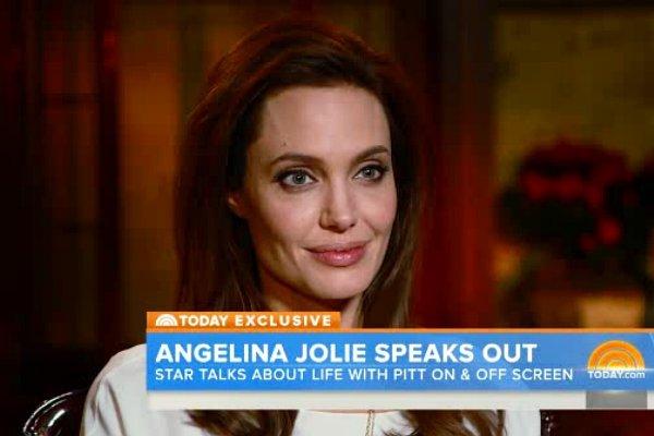 Angelina Jolie comenta los cambios en su vida tras su boda
