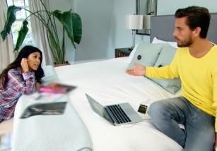 Kourtney Kardashian y Scott Disick llevan cinco años sin dormir juntos