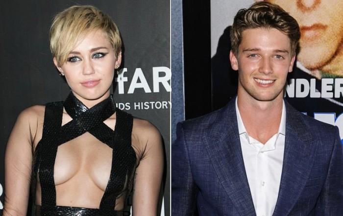 Miley Cyrus sale con Patrick Schwarzenegger