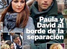 Crisis entre Paula Echevarría y David Bustamante según Lecturas