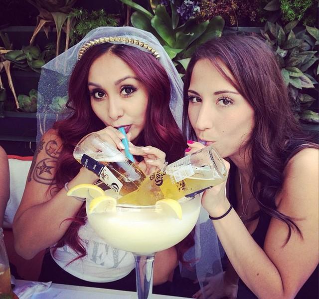 Snooki  (Jersey Shore) celebra su despedida de soltera en Miami