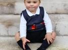Nuevas fotos del príncipe George, hijo del príncipe William y Kate Middleton
