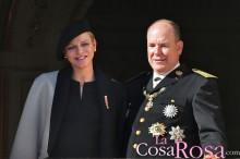Charlène y Alberto de Mónaco, padres de un niño y una niña