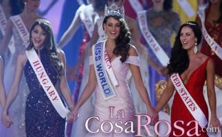 Rolene Strauss, Miss Sudáfrica, es coronada Miss Mundo 2014