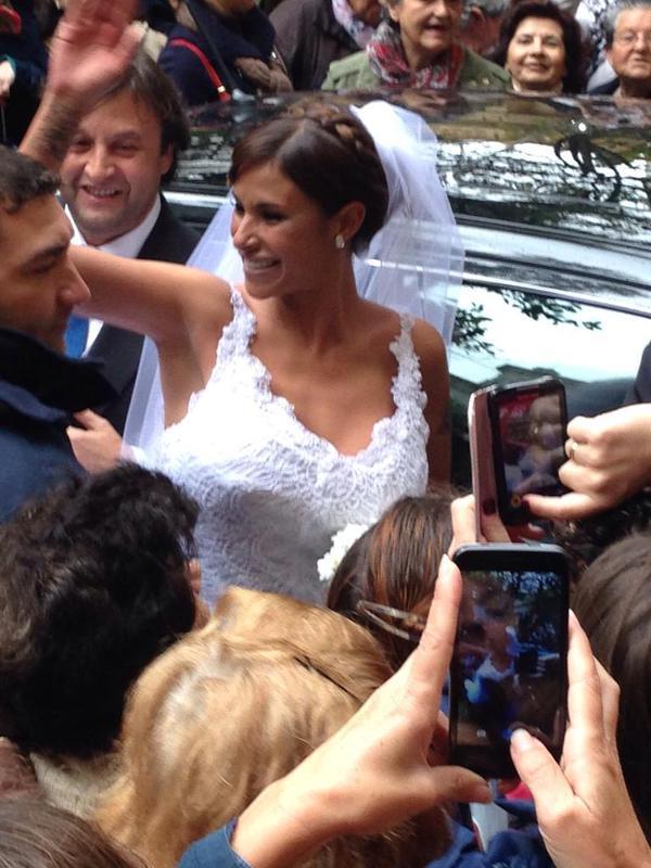 Alberto Isla y Techi ya son marido y mujer