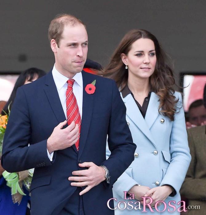 Los duques de Cambridge esperan una niña