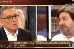 Julián Contreras comenta su difícil situación en Sálvame deluxe