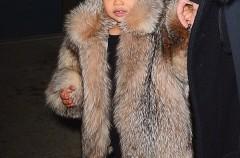 Kim Kardashian y Kanye West, falsos rumores sobre su hija North