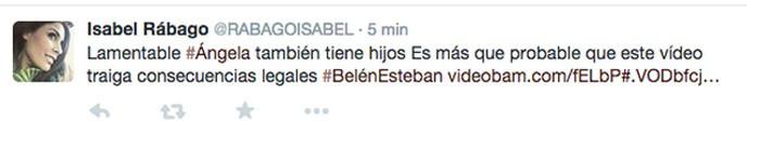 Belén Esteban y sus insinuaciones contra Ángela Portero