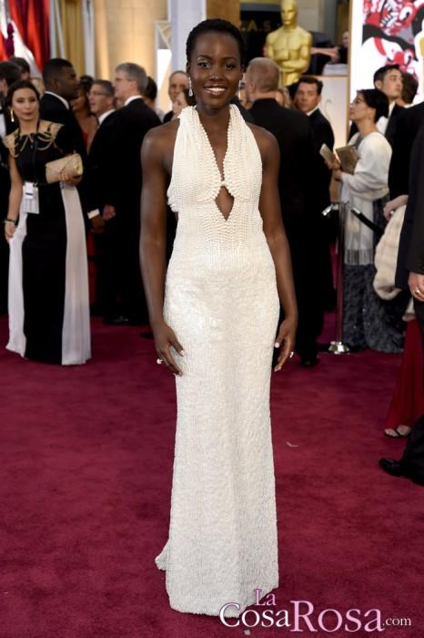 Roban el vestido que lució Lupita Nyong'o en los Oscar 2015