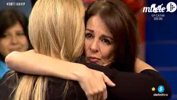 Belén Esteban se muestra muy arrepentida con Ángela Portero