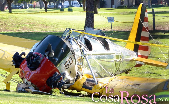Harrison Ford, herido tras sufrir un accidente de avioneta