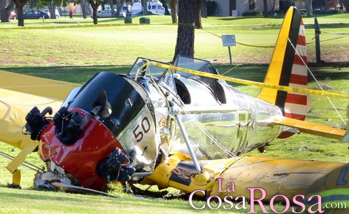 Calista Flockhart prohíbe volar solo a Harrison Ford tras su accidente