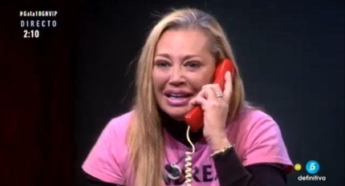 Andreíta le dice a Belén Esteban que ahora sí lo está haciendo bien