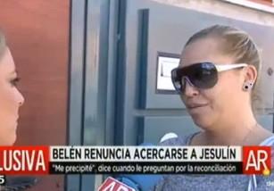 Belén Esteban se arrepiente de su intención de acercarse a Jesulín de Ubrique