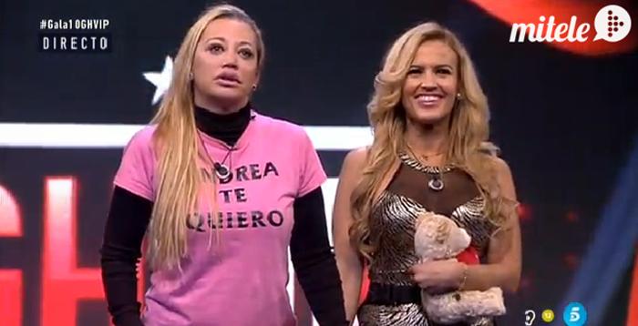Chari, expulsada y Belén Esteban se libra de las nominaciones en Gran Hermano VIP
