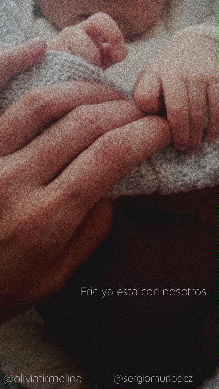 Sergio Mur y Olivia Molina, padres de un niño llamado Eric