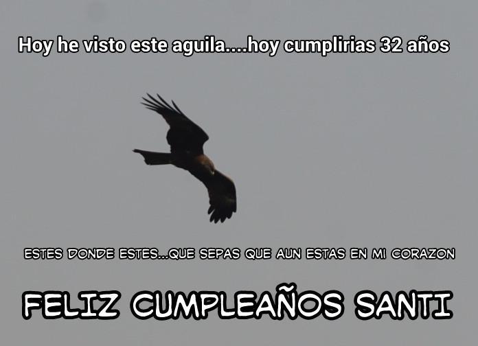 Ana Fernández y Frank Cuesta recuerdan a Santi Trancho en el día de su cumpleaños